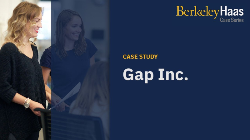 Gap Inc. - Eliminating the Gender Pay Gap